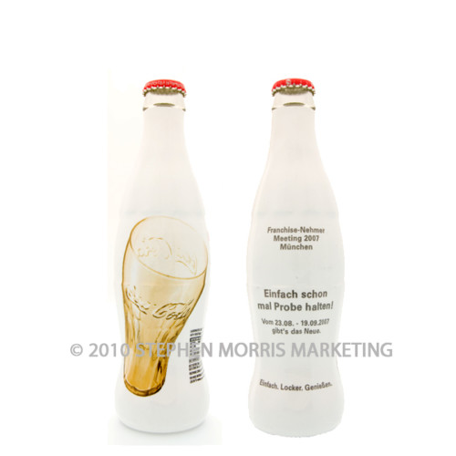 Coca-Cola Bottle Issued 2007. Product Code D111-0