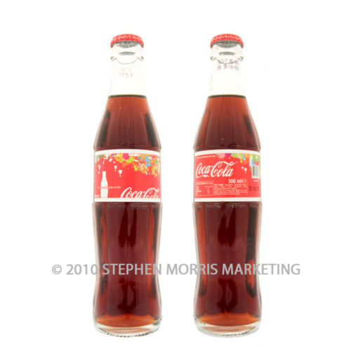 Coca-Cola Bottle 2008. Product Code X1-0