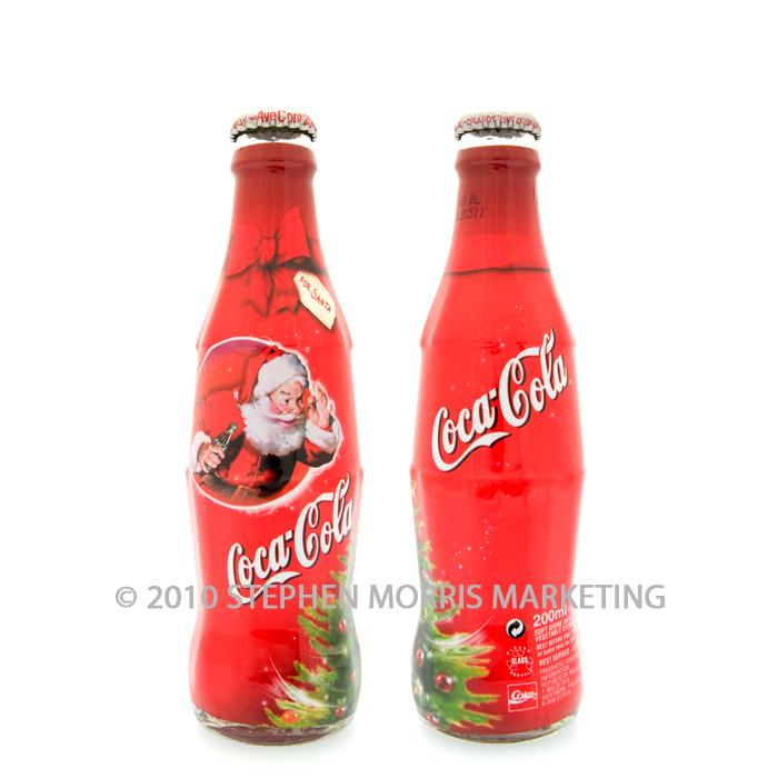 Coca Cola Christmas Bottle.Coca Cola Christmas Bottle Ireland 2003 Product Code Q100