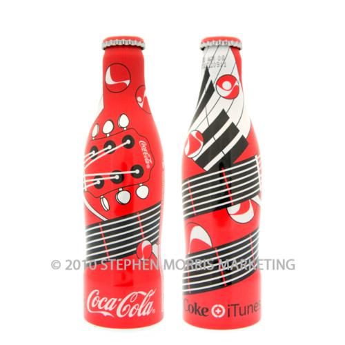 Coca-Cola iTunes Bottle 2007. Product Code D4-0