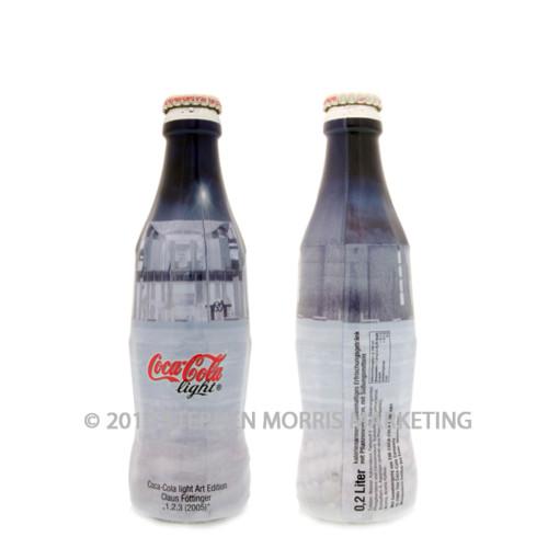 Coca-Cola Bottle 2005. Product Code D105-0