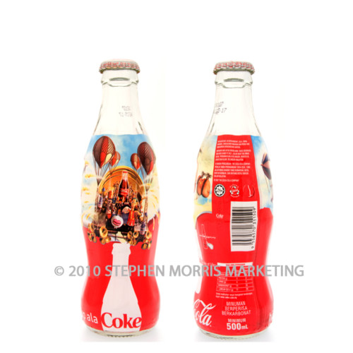 Coca-Cola Bottle 2007. Product Code MA1-0