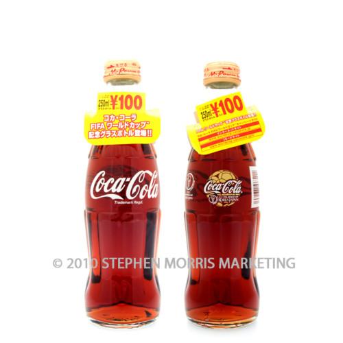 Coca-Cola Bottle 2002. Product Code JAP101-0