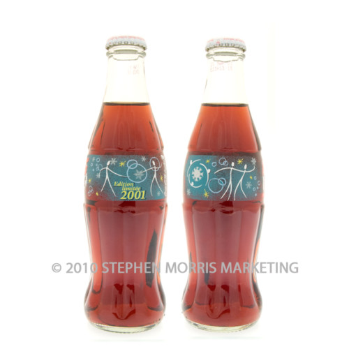 Coca-Cola Bottle 2001. Product Code F2-0