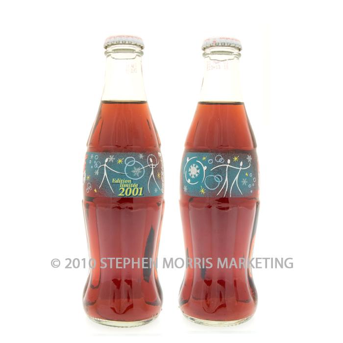 Coca Cola Christmas Bottle.Coca Cola Christmas Bottle 2001 Product Code F2
