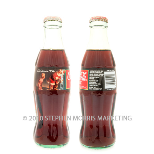 Coca-Cola Classic Bottle 1996. Product Code A344-0