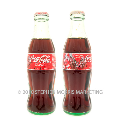 Coca-Cola Classic Bottle 1998 Product Code A348-0