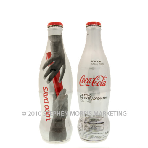 Coca-Cola Bottle. Product Code U114a-0