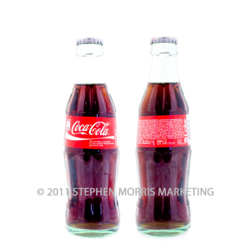 Coca-Cola Belgium Glass Bottle. Product Code B36-0