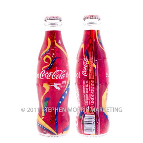 Coca Cola Bottle 2007. Product Code VE2-0