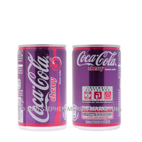 Coca-Cola Cherry Can. Product Code S3-0