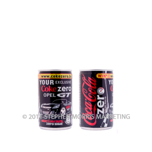 Coca-Cola Zero Can. Product Code S4-0
