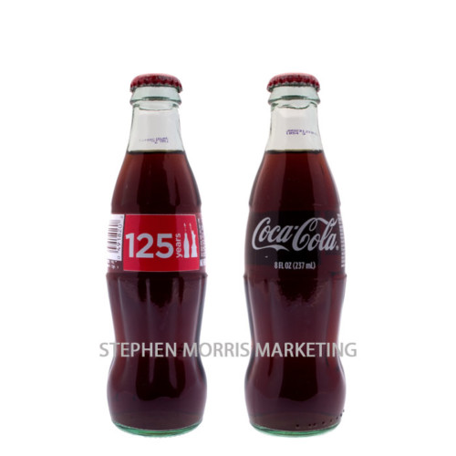 Coca-Cola USA - Glass 'Statue of Liberty 125 years' bottle. Product Code CCC-0008-0