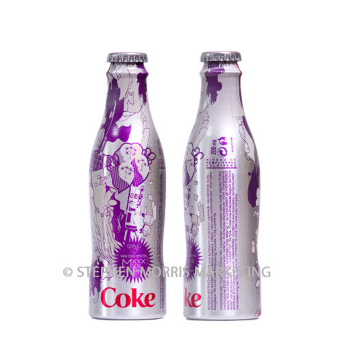 Belgian aluminium 'South America' bottle. Product Code CCC-0037-0