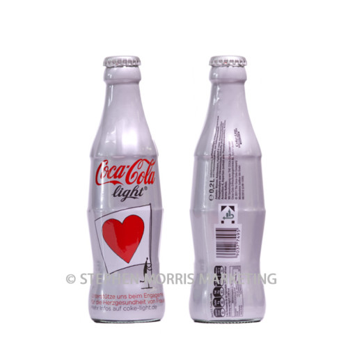 Bottle promoting Heart Health for Women 2011. Product Code CCC-0049-0