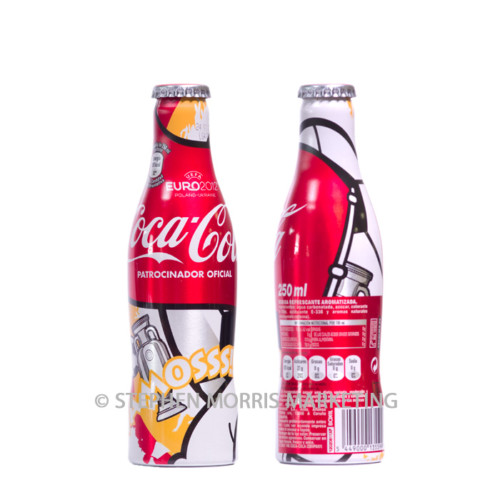 Spanish aluminium Euro2012 bottle #3. Product Code CCC-0056-0
