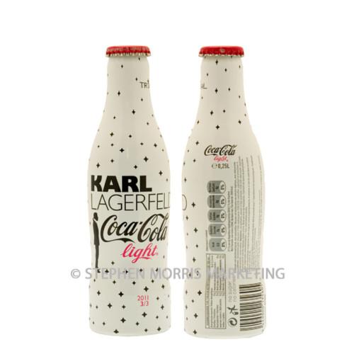 Belgian TRIAL aluminium Lagerfeld bottle 2011. Product Code CCC-0065-0
