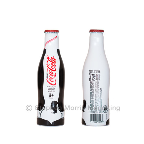 Coca-Cola Hungary Aluminium 'Sziget' Bottle 2008-Product Code CCC-0126-0