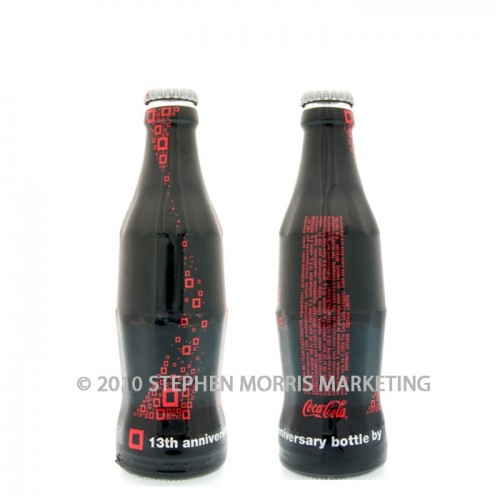 Coca-Cola Collectibles Anniversary of Carré Bottle - 2004