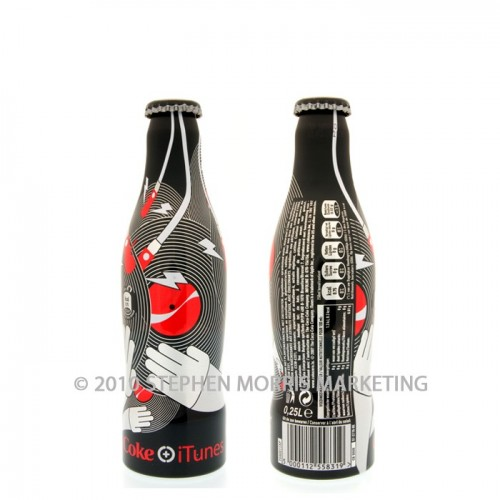 Coca-Cola Zero 'iTunes' Bottle - 2007