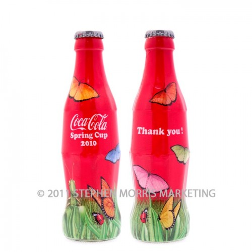 Coca-Cola Collectibles Spring Cup Bottle - 2010