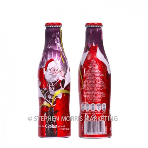 Coca-Cola-Collectibles Belgian Christmas Bottle - 2007