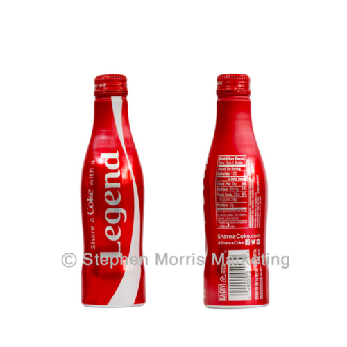 'Share a Coke with your Legend' CCC-0158-0