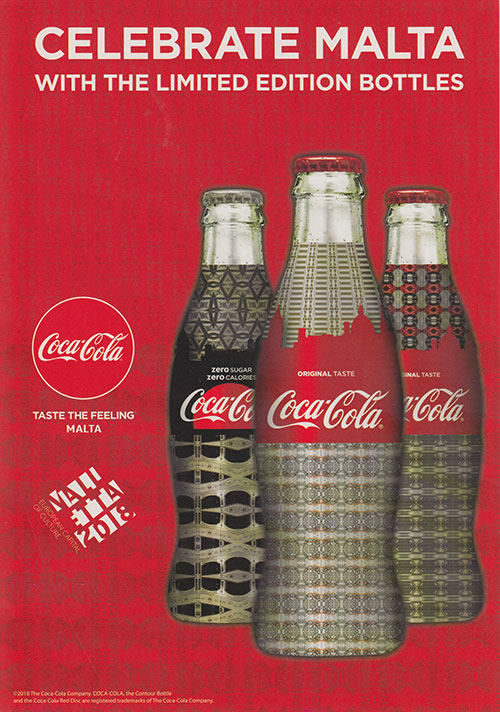 Celebrate Malta Coca-Cola Gift Set
